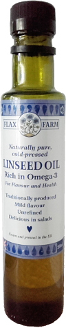 Cold-Pressed Linseed Oil - the starting material. Copyright (c)2019 Paul Alan Grosse