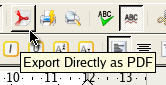 PDF export from OpenOffice.org